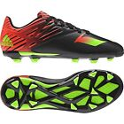 adidas F 15.3 TRX FG / AG Messi 2015 Soccer Shoes Black -Red - Green KIDS- YOUTH
