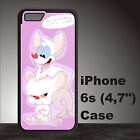 Pinky and the Brain Funny Cartoon Anime Case iPhone 4s 5s 5c SE 6+ 6s+ 7 8 8+ #O