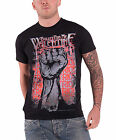 Bullet For My Valentine Riot logo Official Mens New Black T Shirt all sizes