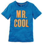 "Carter's Boys Blue ""Mr. Cool"" Short Sleeve Graphic T Shirt - Toddler"