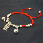 Chinese Feng Shui Red String Wealth Lucky Coin Charm Pendant Adjustable Jeweller