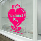 Happy Valentines Day Wall & Window Stickers Decals Shop Window Display Love A315