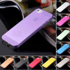New 0.3mm Ultra Thin Matte hard case Back cover for iphone 5 5S multi color