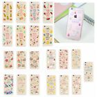 Thin Animal&Flower&Fruit Pattern Transparent TPU Soft Case For iPhone 5S 6S Plus