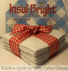 Insul-Bright POTHOLDER Batting Precut Squares *Pick Size/Quantity* FREE SHIP