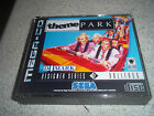 THEME PARK.SEGA MEGA CD PAL .REPLACEMENT CASE+INLAYS ONLY.NO GAME