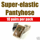 (Free shipping) Super-elastic pantyhose (10 pairs per pack) 3 Colors