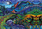 Psychedelic trippy A4 GREAT POSTER print