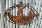 Wrought Iron Welcome - Elk Woodsy Wall Art