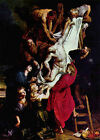 Descent from the Cross by Peter Paul Rubens (classic Christian art print)
