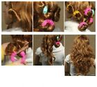 2 Size Donuts Curly Hair Curls Roller Hair Styling Tools Hair Accessory 6/8 PCS