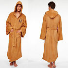 Star Wars Hooded Bath Robe Cosplay Costume Jedi Sith Fleece Bathrobe Cloak Cape