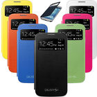 Flip PU Leather CASE Cover Smart Wake View For SAMSUNG GALAXY S4 i9500 Hot