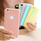 Ultra Slim Soft Silicone TPU Gel Back Case Cover For Apple iPhone X 5 6S 7 Plus