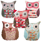 SASS AND BELLE VINTAGE STYLE OWL CUSHION HOME DECORATION GIFT INNERS AND COVERS