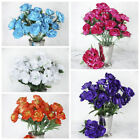 12 SILK CAMELIA BUSHES Wedding Party Flowers Tabletop Centerpieces Decorations