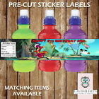 Personalised Peter Pan Water Bottle Labels Birthday Children Party Favours Gift