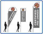MG certified pre owned car flag ,great for dealerships - MG Flags Banners UK 1