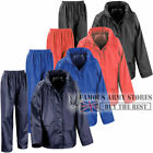 Kids Childrens Waterproof Rainsuit Storm Rain Jacket & Trousers Set Travel Camp