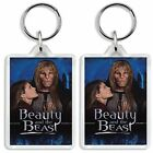 BEAUTY AND THE BEAST CLASSIC 80S TV SHOW AND DVD KEYRING UK SELLER