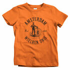 Amsterdam Bicycle Club Kids T-shirt - Baby Toddler Youth - Netherlands Cycling