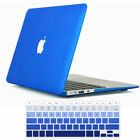 Laptop Accessories Rubberized Hard Cover Case for Macbook Air Pro 11 12 13 15+KB