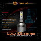 40W 4500LM LED Motorcycle Headlight Conversion Kit 1Pc or Pair 6000K White (A)