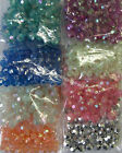 New 15g Acrylic Round Faceted Beads in Assorted Colors Bead for Beading & Craft