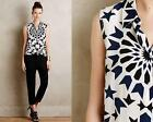 In STOCK~ $218 Equipment Silk Sleeveless Blouse mosaic Anthropologie XS/S/M/L