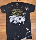 Star Wars The Force Awakens Millennium Falcon Star Wars Graphic Tee Men T-Shirt $17.72 CAD