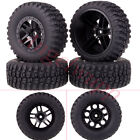 4PCS RC 1/10 Wheel Rim & Tyre,Tires For Traxxas Slash 4x4 Pro-Line Racing 1182