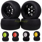 4PCS RC 1:8 Off Road Monster Truck 17mm Hub Wheel Rim & 140mm Tires,Tyre 62012