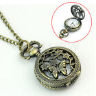 New Luxury Vintage Quartz Pocket Watch Necklace Pendant Women Men Jewelry GIft