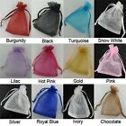 50X-400X Organza Gift Bags Pouches Wedding Favours Candy Jewelry Bags Supplies