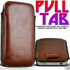 Pull Tab Slide In Flip Up Phone Case Cover Pouch for Doogee Phones