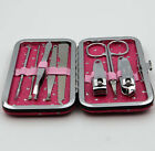 Set Of 8pcs Manicure Pedicure Travel Sets Nail Scissors Clippers Earpick Groomi