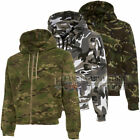 Boys/Kids Camo Hoody British Army Military Combat Cadet Hoodie Sweatshirt Top
