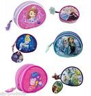 Girls Childrens Kids Disney Frozen Peppa Pig Characters Wallet Coin Purse Gift