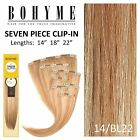 bohyme clip in hair extensions - Bohyme 7 Piece Clip-in Hair Extension Color H14/BL22