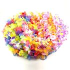 50 Simulated Silk LEIS Hawaiian Lei Luau Party Favors Supplies beach Pool Party