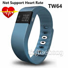 TW64S Fitness Bluetooth Smart Watch Health Bracelet Heart Rate Pedometer Tracker