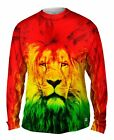 Yizzam- Rastafarian Lion - New Mens Long Sleeve Tee Shirt XS S M L XL 2XL 3XL 4