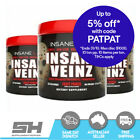 INSANE LABZ INSANE VEINZ - PRE WORKOUT PUMP FORMULA - NITRIC OXIDE 35 SERVES