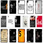 Celebrity Famous Quotes Phone Case Cover for Sony Xperia - T100