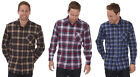 Mens Check Shirt Gents Flannel Print Long Sleeve Button Up Casual Chequered New
