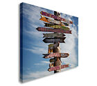 Key West Sign Wall Art Canvas Print, Great Value sq