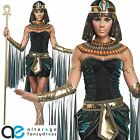 EGYPTIAN GODDESS CLEOPATRA FANCY DRESS COSTUME QUEEN OF THE NILE ADULT LADIES