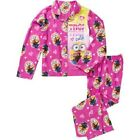Minions Girls License Button Front Pajama or Fleece  2 Piece Sleep Set 6X