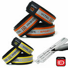 VITAL ID - SPORT ID Cyclist / Runners HI  VIZ ICE Medical Bracelet RED OR YELLOW