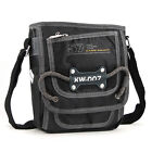 Men's small shoulder messenger bag durable nylon pocket for purse cell phone